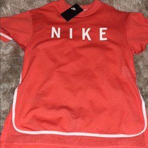 Tops - Nike mesh tee shirt